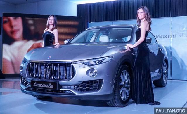 Maserati Levante là mẫu SUV hạng sang đã lần đầu tiên trình làng trong triển lãm Geneva 2016 diễn ra hồi đầu năm. Đến nay, mẫu SUV hạng sang đầu tiên của nhãn hiệu Maserati đã được giới thiệu với thị trường Đông Nam Á, cụ thể là Malaysia.