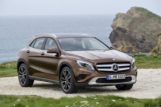 GLA là dòng xe thần tài của hãng Mercedes-Benz trong tháng 8/2016.