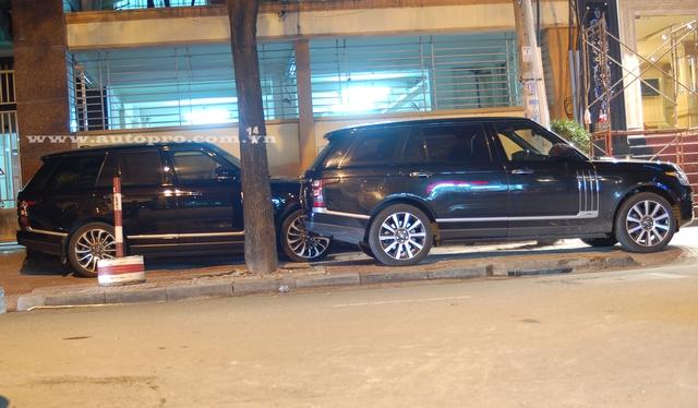 Bộ đôi SUV hạng sang của Range Rover.