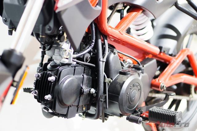 Động cơ trang bị trên Kymco K-Pipe 125 là loại 125 phân khối, 4 kỳ, cho công suất cực đại 8 mã lực tại 7.500 v/ph, mô-men xoắn cực đại 8,5Nm tại 6.000 v/ph.
