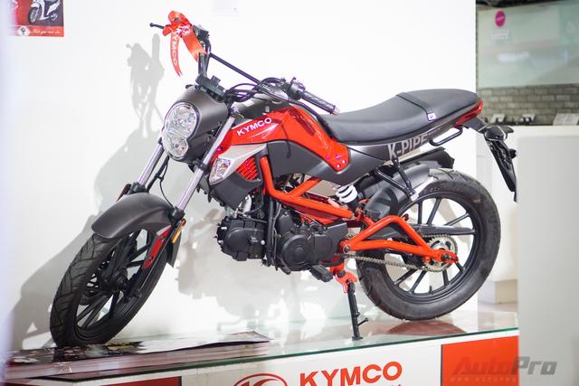 Kymco K-Pipe 125 là một trong những sản phẩm có nguồn gốc Đài Loan được giới thiệu tới khách hàng Hà Nội.
