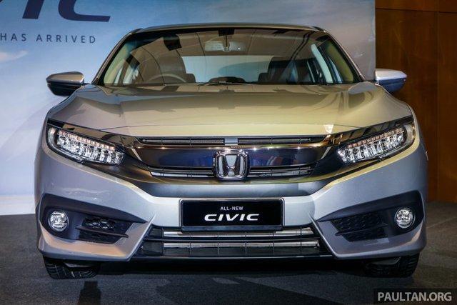 Honda Civic hoàn toàn mới sẽ ra mắt Việt Nam tại VMS 2016?
