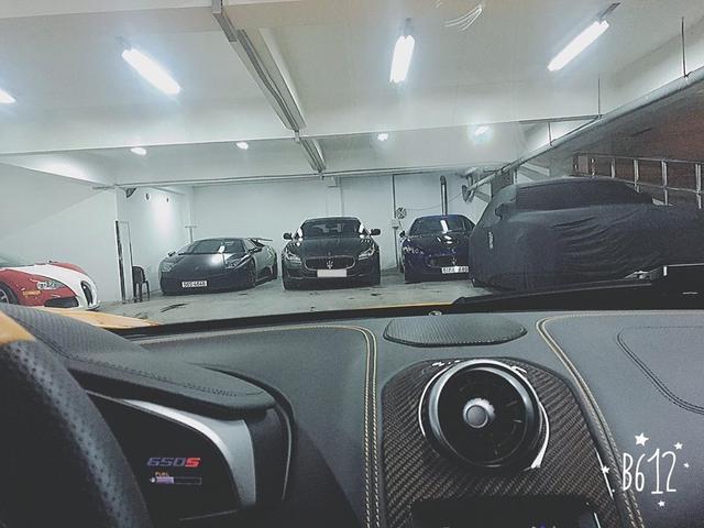 Hình ảnh cho thấy chiếc xe sang Maserati Quattroporte chính hãng mới của Minh Nhựa.