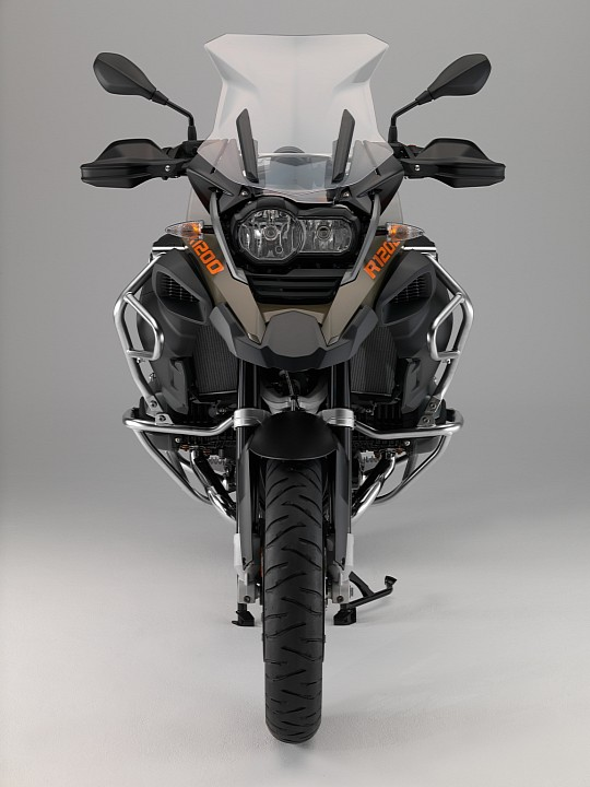 Hé lộ hình ảnh mới của BMW R1200GS Adventure 2014 9