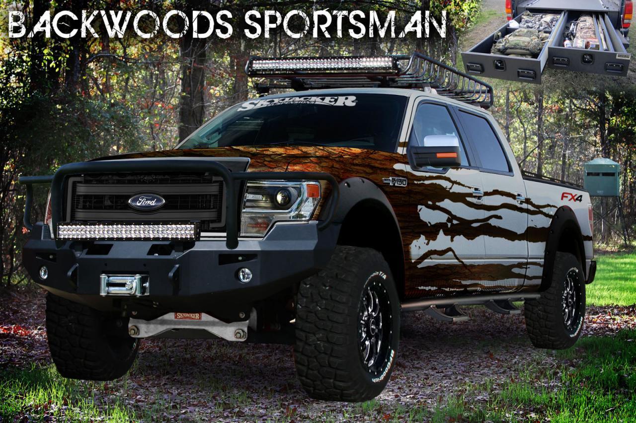 Ford hé lộ hình ảnh 6 mẫu bán tải sắp ra mắt tại triển lãm SEMA 5