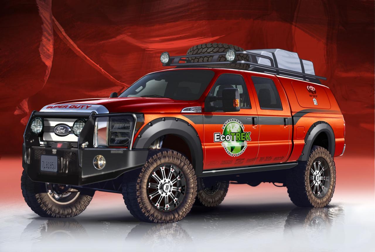 Ford hé lộ hình ảnh 6 mẫu bán tải sắp ra mắt tại triển lãm SEMA 2