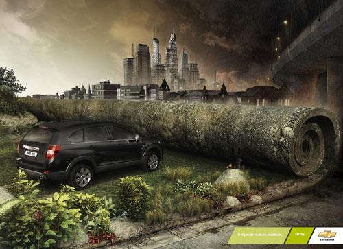 Những tấm poster quảng cáo xe hơi cực kỳ sáng tạo 8