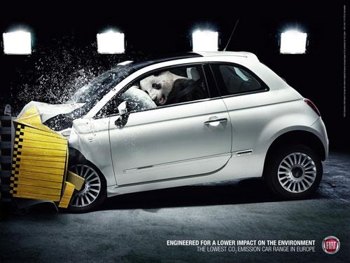 Những tấm poster quảng cáo xe hơi cực kỳ sáng tạo 9