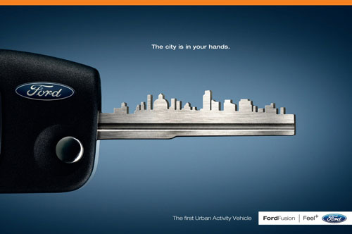 Những tấm poster quảng cáo xe hơi cực kỳ sáng tạo 2