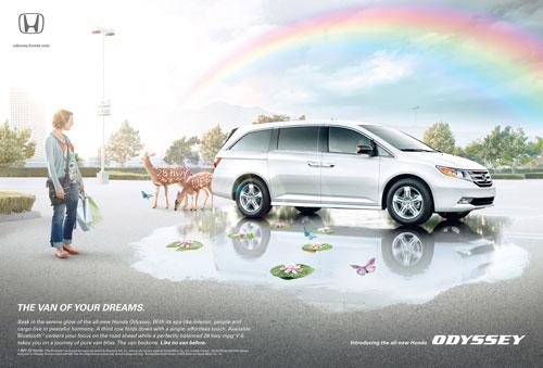 Những tấm poster quảng cáo xe hơi cực kỳ sáng tạo 11