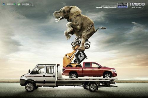 Những tấm poster quảng cáo xe hơi cực kỳ sáng tạo 13