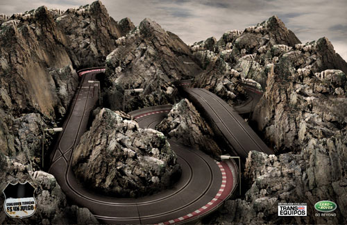 Những tấm poster quảng cáo xe hơi cực kỳ sáng tạo 15