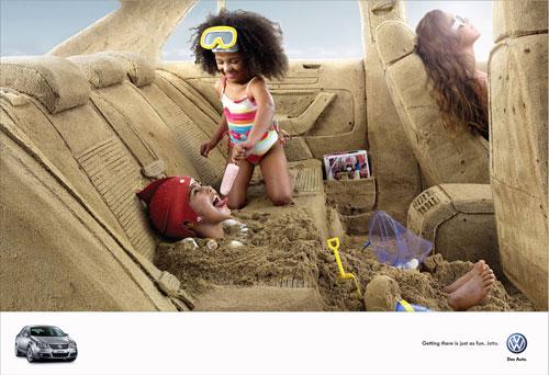 Những tấm poster quảng cáo xe hơi cực kỳ sáng tạo 19