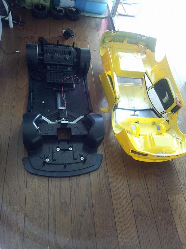 """Case máy tính """"đội lốt"""" siêu xe Lamborghini Gallardo cực chất 4"""