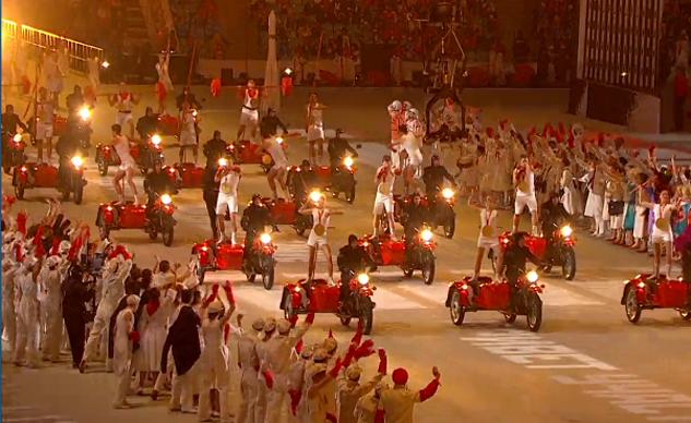 Sidecar Ural - Biểu tượng nước Nga xuất hiện trong lễ khai mạc Thế vận hội mùa đông 2