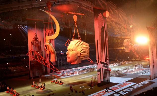 Sidecar Ural - Biểu tượng nước Nga xuất hiện trong lễ khai mạc Thế vận hội mùa đông 1