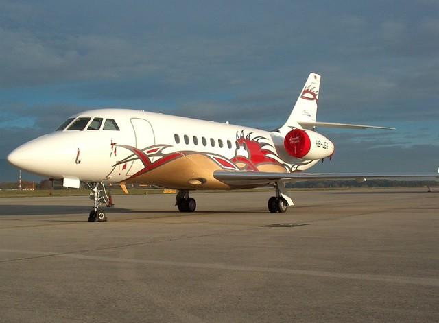 Dassault Falcon 2000EX. Ảnh minh họa