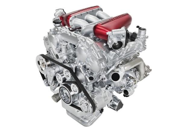 Động cơ V6 3.8 lít tăng áp turbo kép của Nissan GT-R