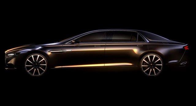 Hình ảnh teaser đầu tiên của Aston Martin Lagonda mới.