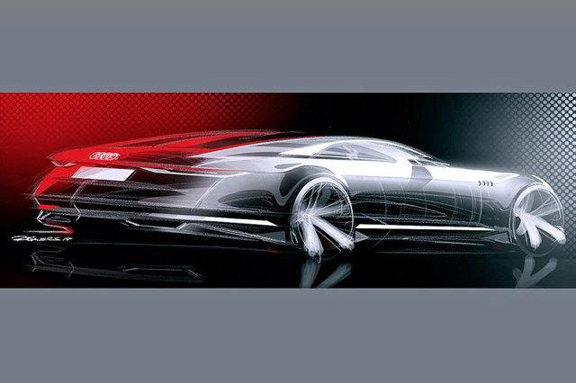 Hình ảnh phác họa của Audi Prologue.