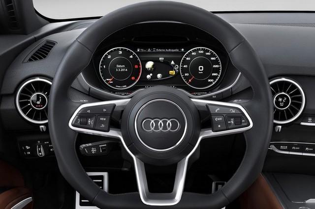 Nội thất của Audi TT thế hệ mới.