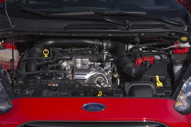 Động cơ 3 xi-lanh, tăng áp, DOHC, dung tích 1.0 lít của Ford Fiesta