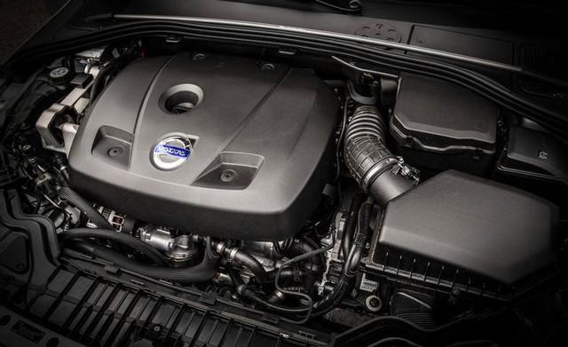 Động cơ 4 xi-lanh, tăng áp, DOHC, dung tích 2.0 lít của Volvo S60