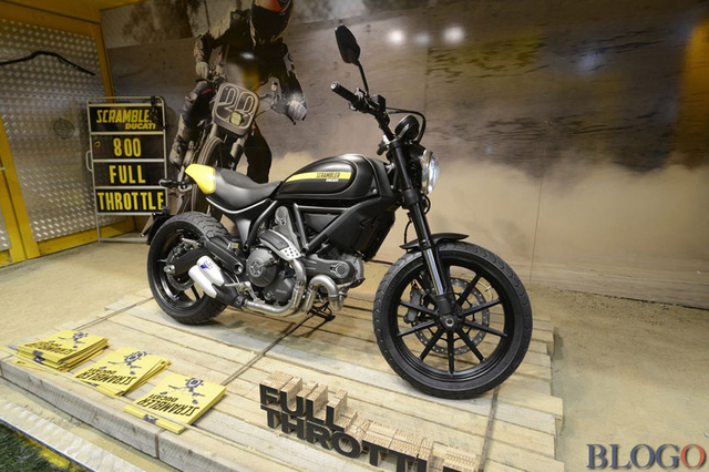 Ducati Scrambler tại triển lãm EICMA 2014.