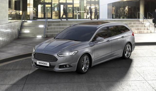 Ford Mondeo thế hệ mới phiên bản station wagon.