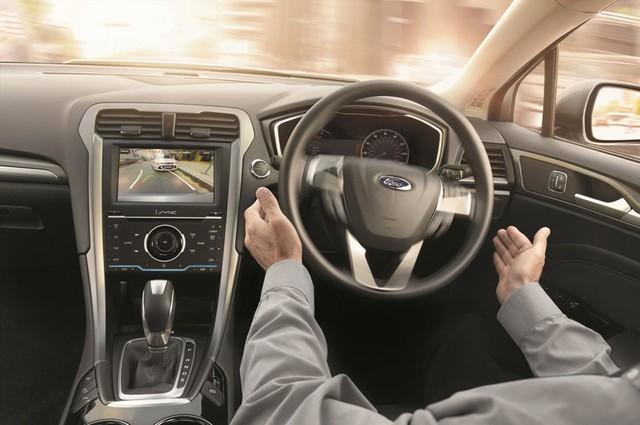Nội thất của Ford Mondeo thế hệ mới.