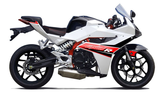 Hyosung GD250R được gọi là Exiv 250R tại thị trường châu Á.