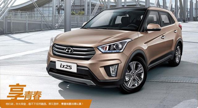 Hyundai ix25 phiên bản Trung Quốc