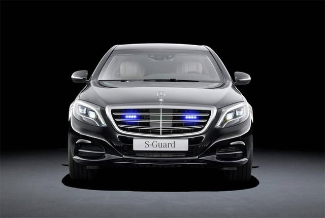 Mercedes-Benz S600 Guard W222
