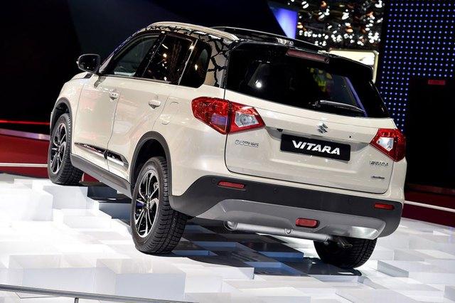 Suzuki Vitara 2015 trong triển lãm Paris 2014.
