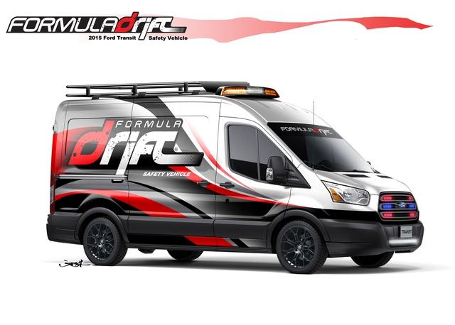 Formula Drift Ford Transit