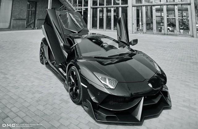 Siêu xe Lamborghini Aventador LP700-4 với gói độ LP988 Edizione GT của DMC.