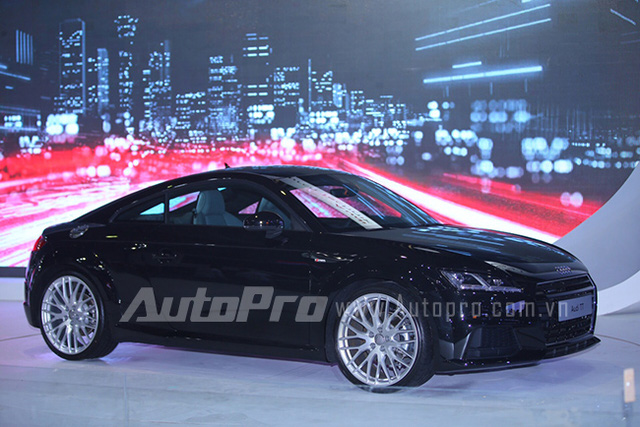 Audi TT hoàn toàn mới.