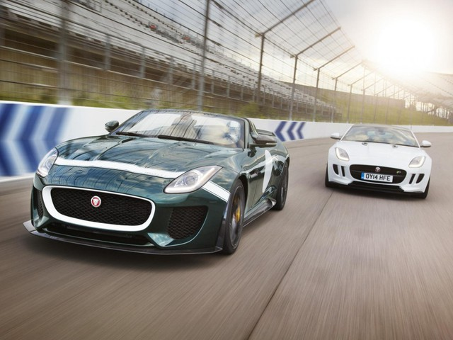 Jaguar Project 7 và Jaguar F-Type