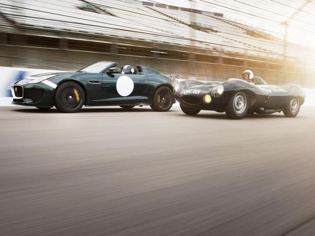Jaguar Project 7 và Jaguar D-Type
