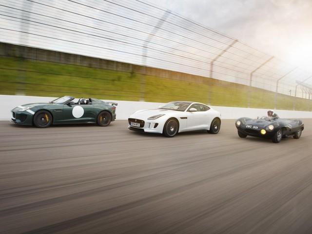 Jaguar Project 7, Jaguar F-Type và Jaguar D-Type