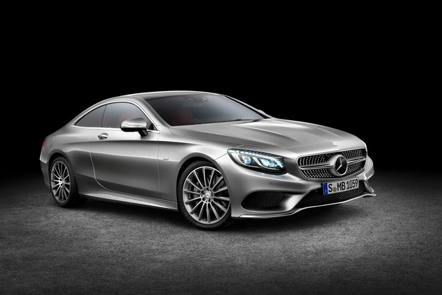 Mercedes-Benz S550 4Matic Coupe