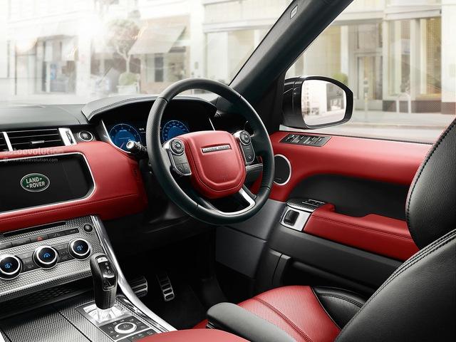 Nội thất Land Rover Range Rover Sport