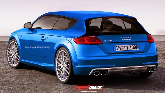 Audi TT S Shooting Brake