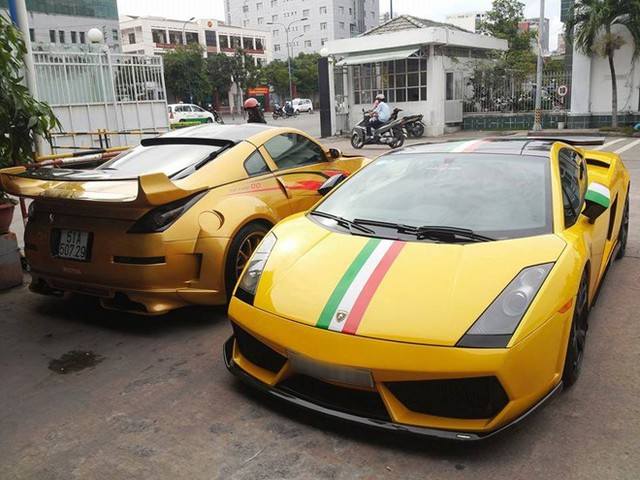 Lamborghini Gallardo màu vàng phiên bản SE