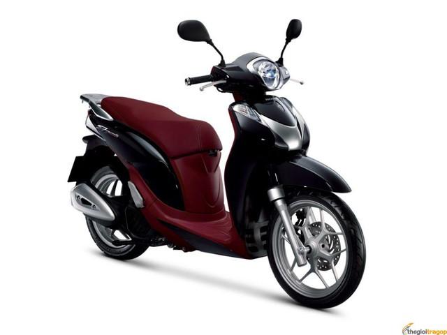 SH mode là một trong những mẫu xe được Honda trang bị động cơ eSP.