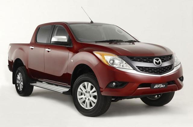 Mazda BT-50 phiên bản hiện đang có mặt trên thị trường.