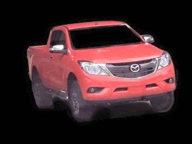 Mazda BT-50 phiên bản nâng cấp