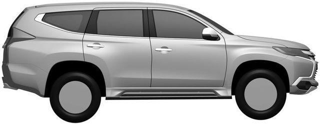 Kính chắn gió và cửa trước lại gợi liên tưởng đến Mitsubishi Triton thế hệ mới.