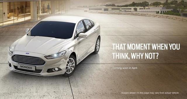 Ford Mondeo thế hệ mới được tiết lộ sẽ đến Malaysia trong tháng 4 tới.