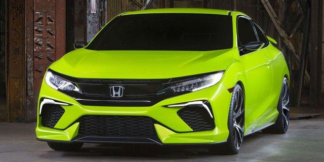 Honda Civic Concept trong triển lãm New York 2015